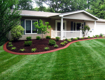 Landscaping projects sunrise of nashville for Landscaping ideas around house